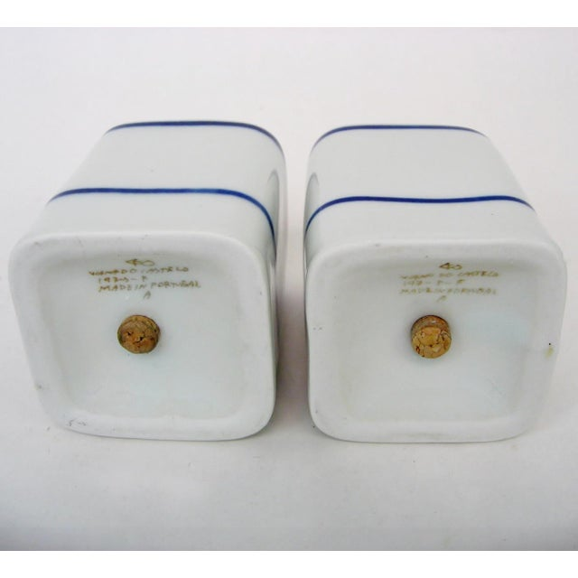 Portuguese Salt & Pepper Shakers, 2 Pieces For Sale - Image 4 of 6
