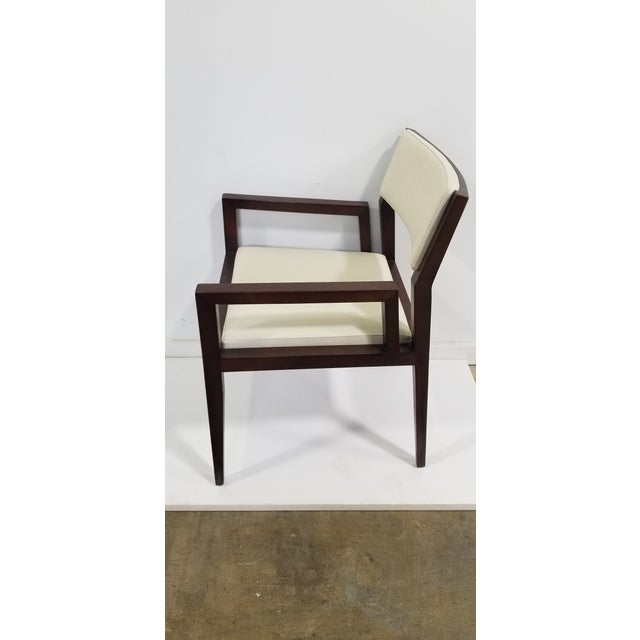 Traditional Bernhardt Wood Guest Chair For Sale - Image 3 of 8