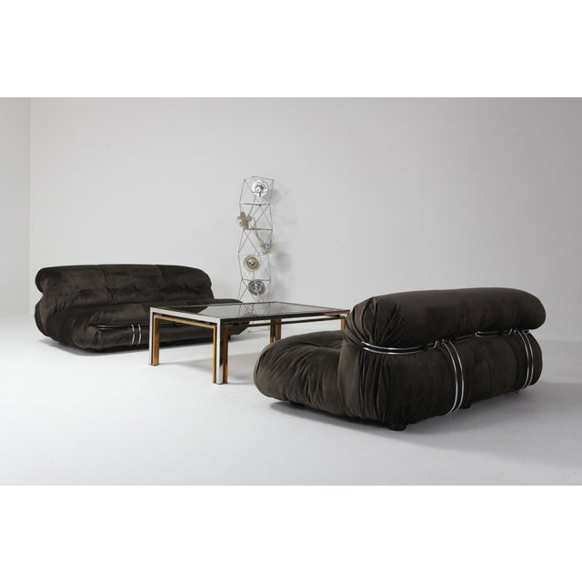 Soriana Two-Seat Sofa by Afra and Tobia Scarpa for Cassina For Sale - Image 10 of 12