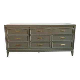 Vintage Gray Thomasville Dresser
