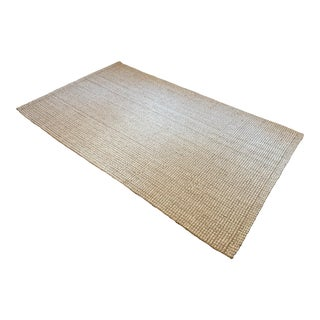 "Pottery Barn Wool Jute Rug-5'x8"" For Sale"