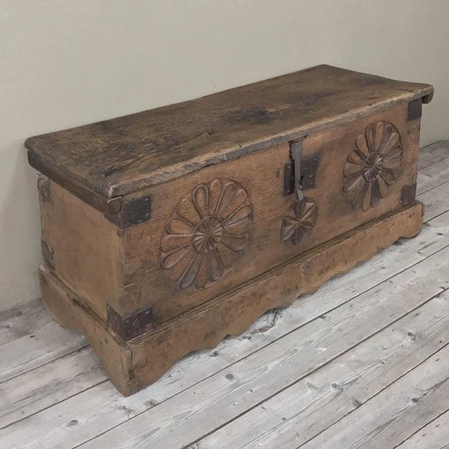 17th Century Spanish Trunk has served its masters for generations, and is now ready to serve a new master! Hand-crafted...