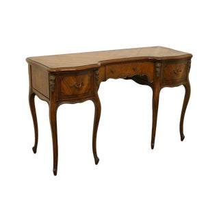 1950s Vintage Bethlehem Furniture Mahogany Louis XVI Style Vanity For Sale