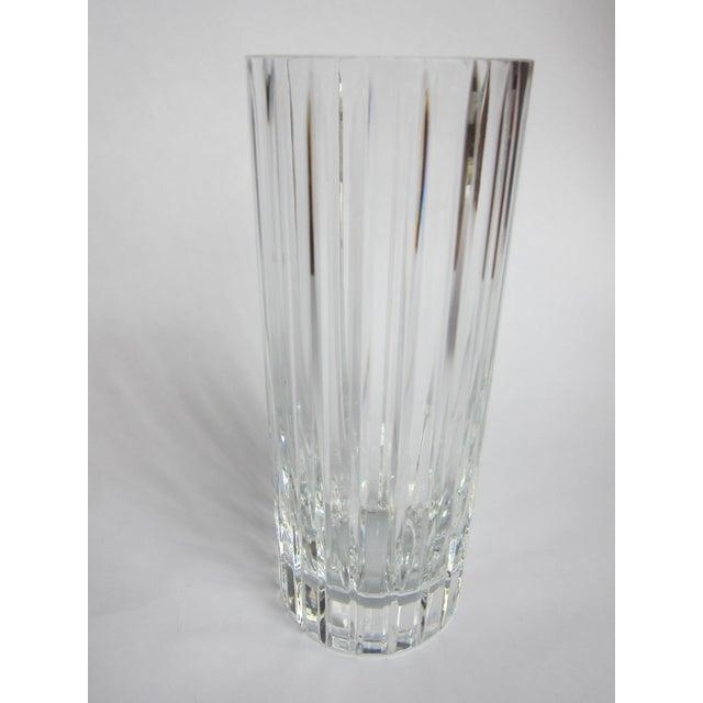 Baccarat Baccarat Harmonie Vase For Sale - Image 4 of 10