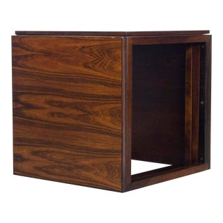 Kai Kristiansen Rosewood Nesting Tables Cube For Sale