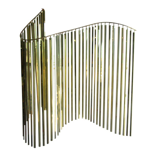 Modern Brass Wall Sculpture - Image 1 of 6