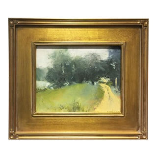 """Morning Mist"" Oil on Canvas by Sue Calahan"