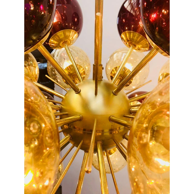 Ventiquattro Sputnik Chandelier by Fabio Ltd For Sale In Palm Springs - Image 6 of 9