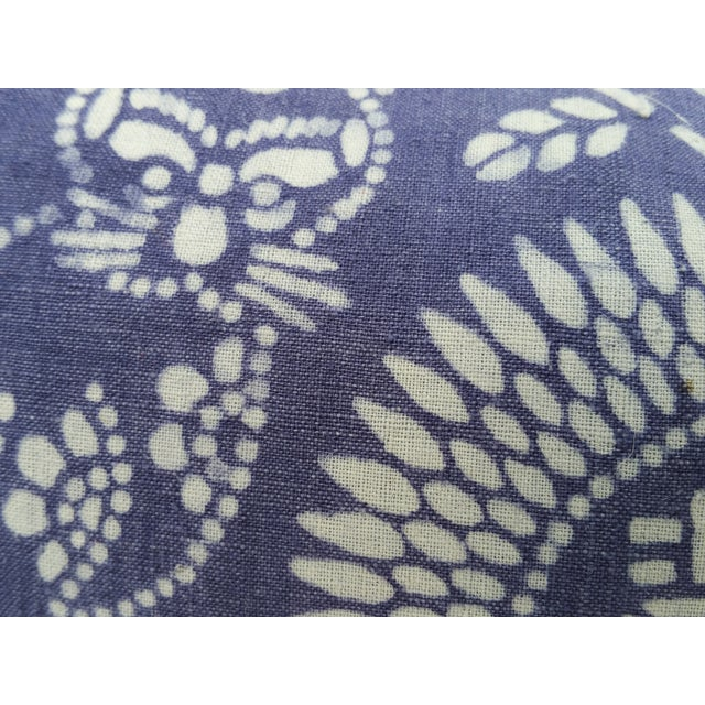 Hand Batik Cat Design Lumbar Pillow - Image 4 of 5