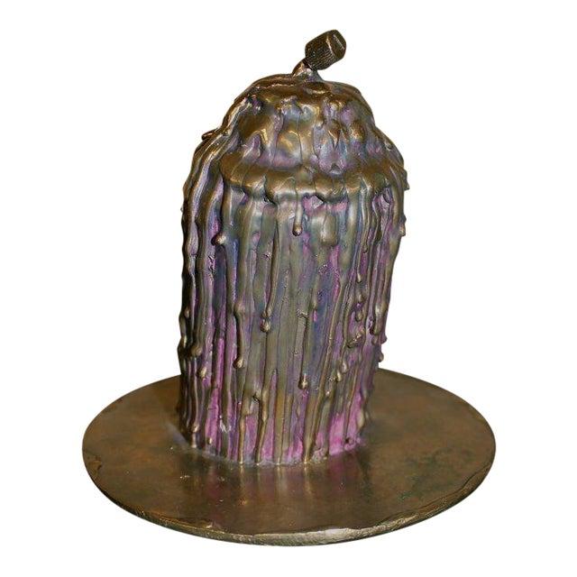 """Ivan Palmer """"No Voice"""" Bronze Sculpture For Sale"""