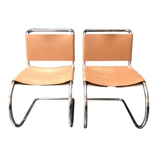 Mies Van Der Rohe Mr Side Chairs