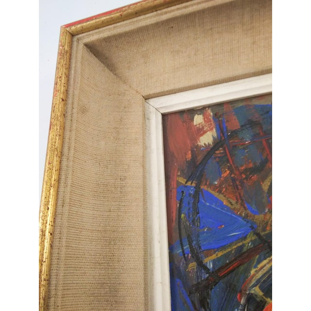 Mid 20th Century Vintage Mid-Century Portrait of Four Females Painting For Sale - Image 5 of 8