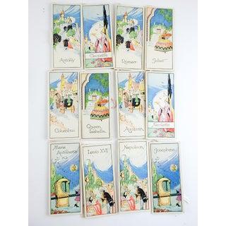 Box Set 1920's Vintage Romance Series Bridge Tally Cards Preview