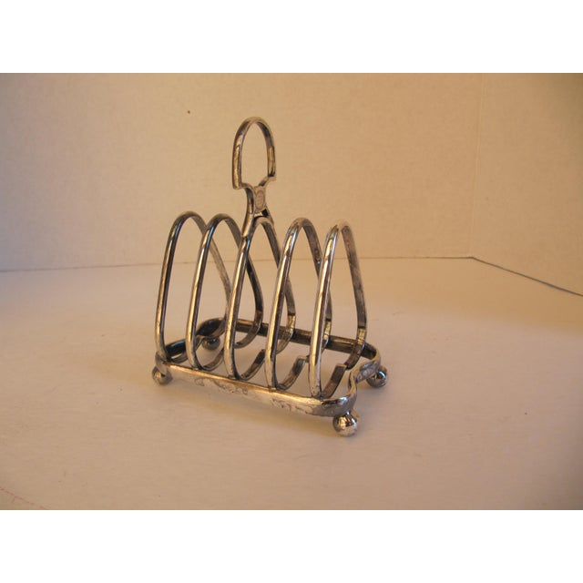 Traditional English Toast Rack From the People's Refreshment House Association For Sale - Image 3 of 5
