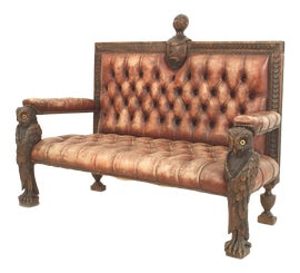 Image of Brown Loveseats