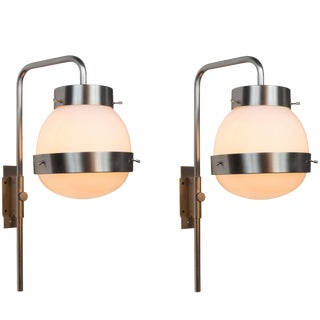 1960s Sergio Mazza for Artemide 'Delta' Wall Light For Sale