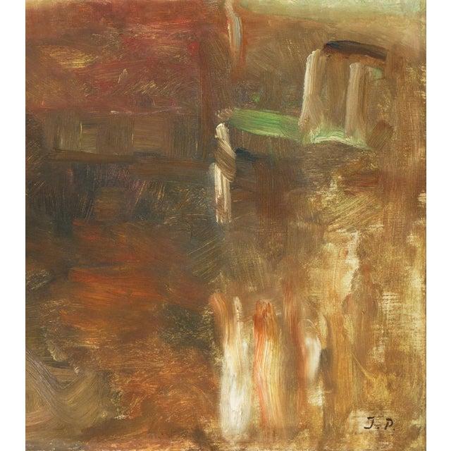 Canvas 'Interior With Mirror' by Julius Paulsen, Paris Salon, Royal Danish Academy, Impressionist Oil, Benezit For Sale - Image 7 of 9