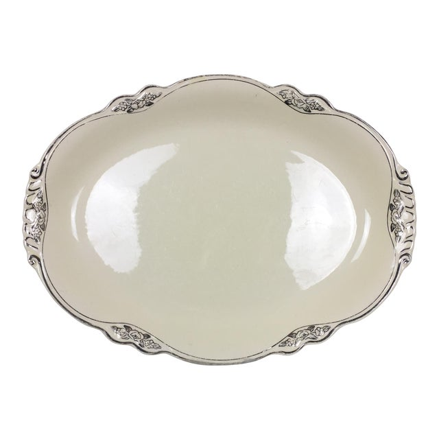 Homer Laughlin Virginia Rose Serving Platter For Sale