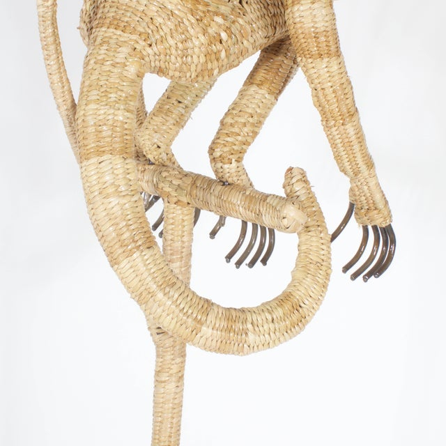 Mario Torres Monkey Floor Lamp For Sale In West Palm - Image 6 of 8