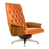 Image of 1960s Vintage George Mulhauser for Plycraft Lounge Chair For Sale