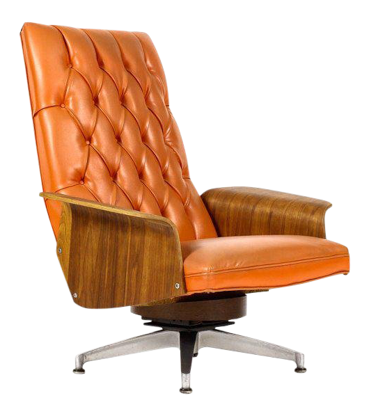 Merveilleux 1960s Vintage George Mulhauser For Plycraft Lounge Chair