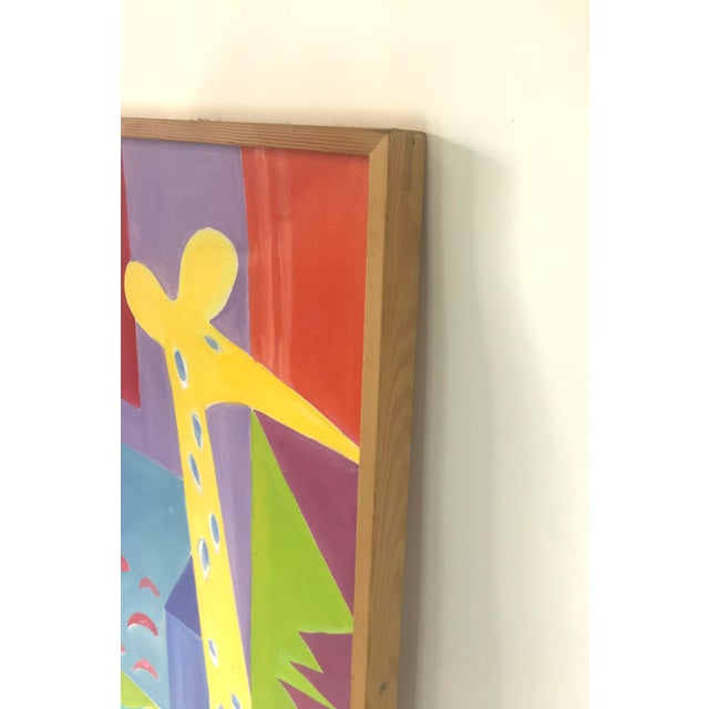 Canvas Original JoAnn Crisp Ellert Oil Painting on Canvas, 1990s For Sale - Image 7 of 11