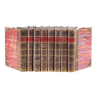 1883 History of the Decline and Fall of the Roman Empire Books - Set of 8 For Sale