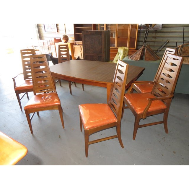 Mid Century Modern Dining Table Chairs