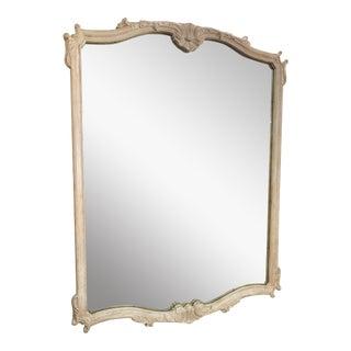 Vintage Large Custom Painted Mirror For Sale