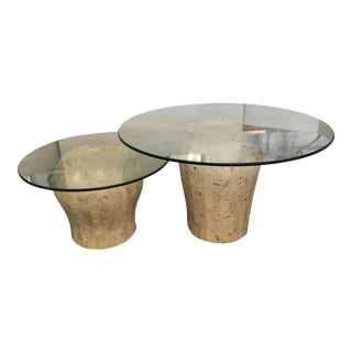 Set of 2 M.Smith Jar Shaped Side Table