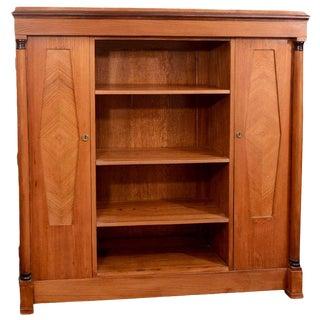 Karl Johan Mahogany Bookcase For Sale