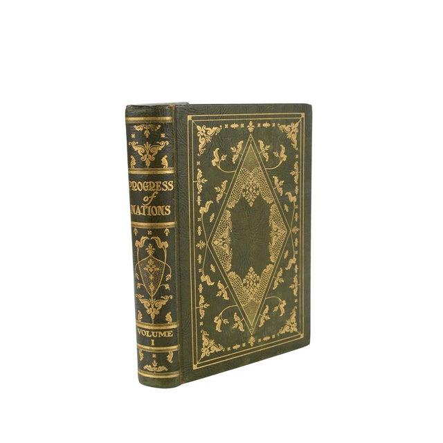 "Art Nouveau ""Progress of Nation"" Books - Set of 10 For Sale - Image 3 of 10"