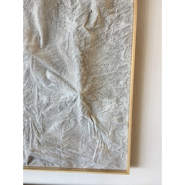 "2020s ""Karakoram"" Large Minimalist Mixed Media Painting For Sale - Image 5 of 9"