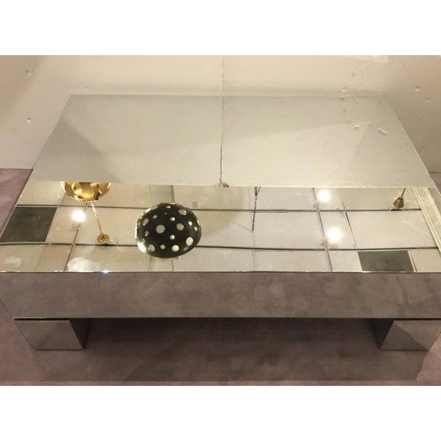 Bernhardt Contemporary Estelle Mirrored Cocktail Table Chairish