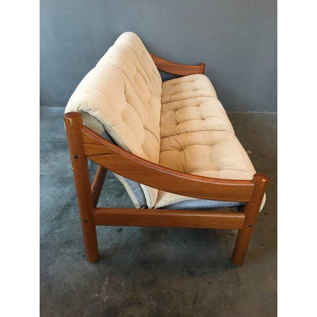 Domino Mobler Danish Modern Teak Sofa For Sale - Image 5 of 9