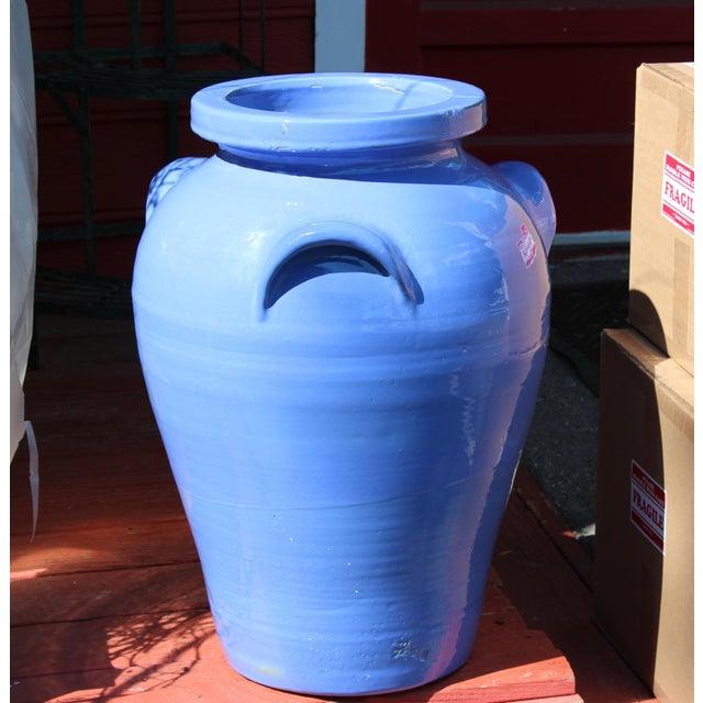 Huge Pickrull Zanesville Norwalk Pot Shop Urn Pottery Arts & Crafts Floor Vase For Sale - Image 4 of 12