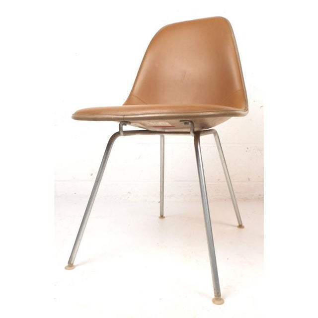 Mid-Century Modern Fiberglass Shell Chairs by Herman Miller - Set of 5 - Image 3 of 9