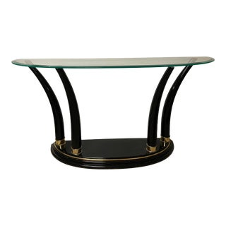 Henredon Tusk Console Table For Sale