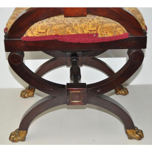 18th C. French Carved & Gilded Chair - Image 9 of 10