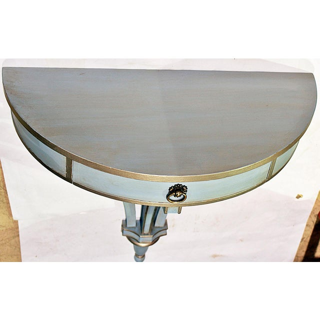 Edwardian Hanging Painted Wall Console For Sale - Image 3 of 10