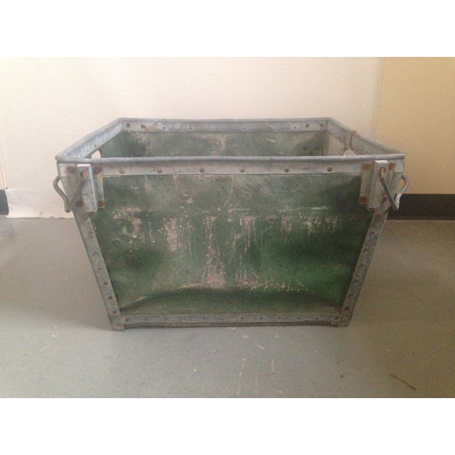 Antique Industrial Mail Bin - Image 2 of 5