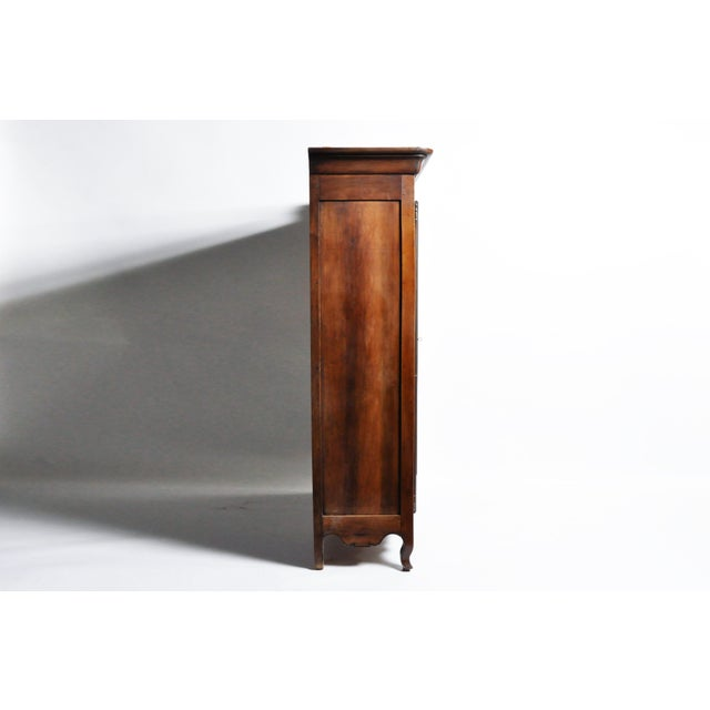 French French Walnut Armoire For Sale - Image 3 of 13