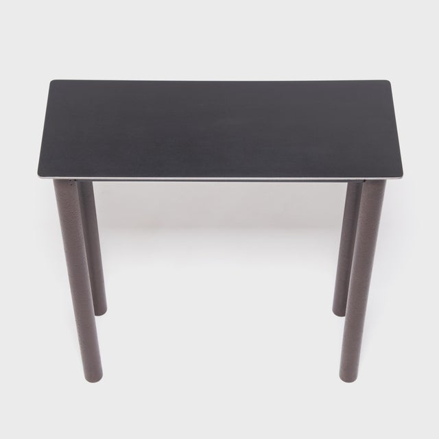 Not Yet Made - Made To Order Jim Rose Steel Ming Wine Table For Sale - Image 5 of 6