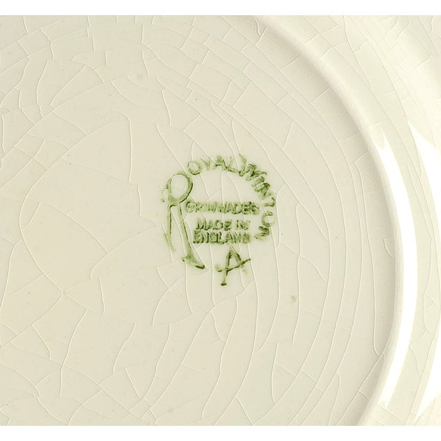 Cottage Royal Winton Square Salad Plate Mixed Fruit Motif - Set of 4 For Sale - Image 3 of 12