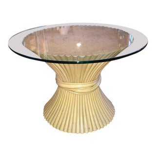 On HOLD-McGuire Round Bamboo Table