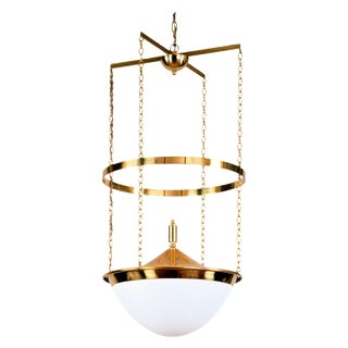 """Jugendstil Loos"" Pendant Light by Adolf Loos For Sale"