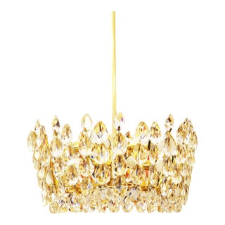 Austrian Crystal Chandelier from Bakalowits & Söhne, 1960s For Sale