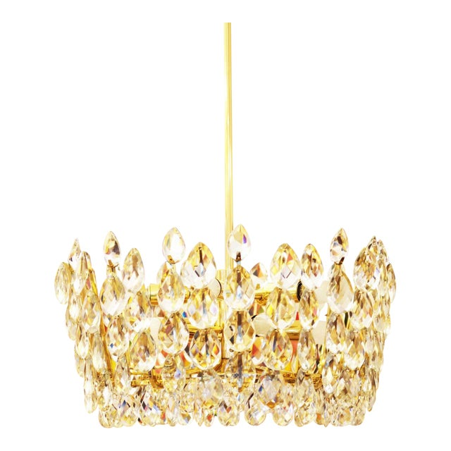 Austrian Crystal Chandelier From Bakalowits Söhne 1960s For