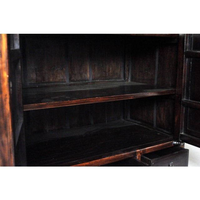 Impressive Two Section Cabinet With Five Drawers For Sale In Chicago - Image 6 of 13