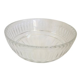 Vintage Josef Riedel Crystal Centerpiece Bowl For Sale